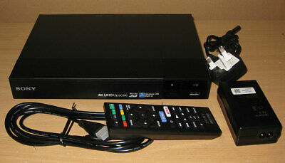 SONY BDP-S6500 Smart 3D Blu-Ray & DVD Player Built-In WiFi HDMI Catch Up TV