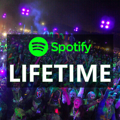 Spotify Premium Lifetime ⚡⚡ Personal Account ⚡ Worldwide Spotify Upgrade