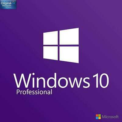 Windows 10 Pro Professional 32/ 64 bit Product Genuine License Key