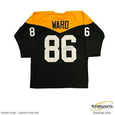 5ed8590c5 HINES WARD AUTOGRAPHED SIGNED Jersey TSE Pittsburgh Steelers Georgia ...