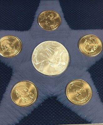 2007 United States Mint Annual Uncirulated Dollar Coin Set