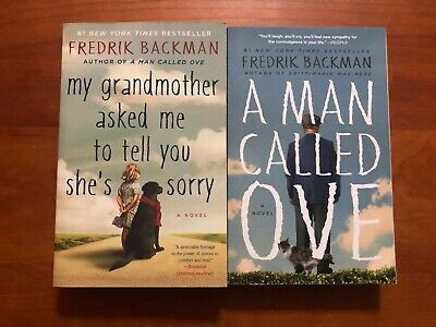 Fredrik Backman Lot 2 Pb A Man Called Ove & My Grandmother Asked Me To Tell You