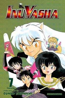 Inuyasha, Vol. 7 (VIZBIG Edition) by Rumiko Takahashi 9781421532868 | Brand New