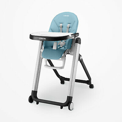 Star Kidz Bimberi & Hotham Replacement High Chair Cushion - Aqua