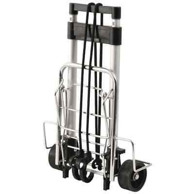 Outwell Folding Hand Truck Silver Aluminium Travel Camping Transport Sack Cart