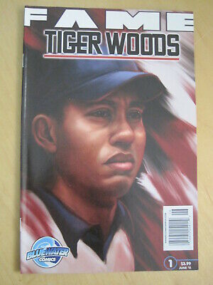 TIGER WOODS special FAME 1. HIS STORY. BLUEWATER COMICS. 2011