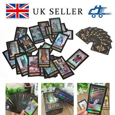 78pcs/Set Waite Rider Tarot Deck Cards With Bag Future Telling Sealed Play Toys