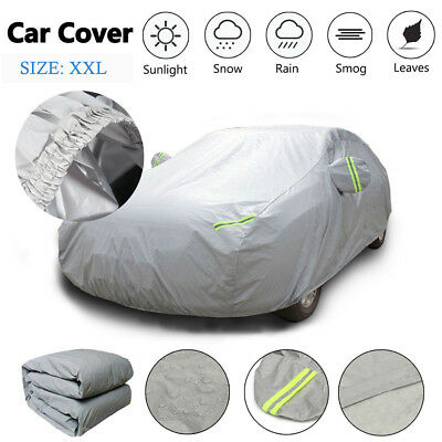 XXL Waterproof Full Car Cover Scratch Proof UV Protection Extra