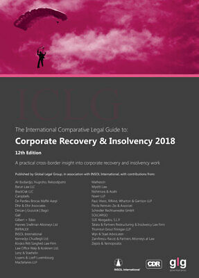 *NEW* ICLG Corporate Recovery & Insolvency 2018 (12th edition) #rnksh