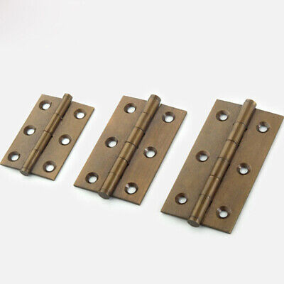 Chinese Traditional Furniture Brass Hardware Box Cabinet Door Hinges Z
