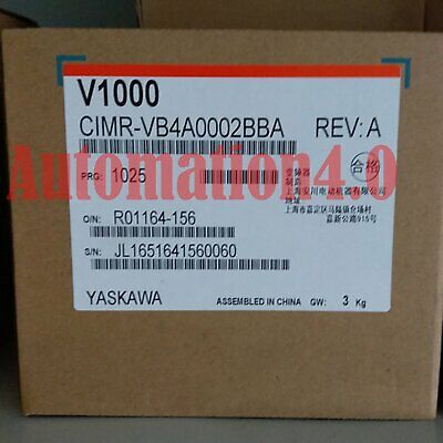 1PC Brand New Yaskawa Inverter CIMR-VB4A0002-BAA One year warranty Fast delivery