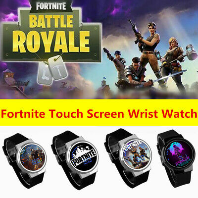 HOT Fortnite Game Touch Screen Wrist Watch Luminous Kids Gifts Presents UK FAST