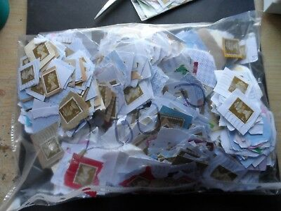approx 2000  USED on paper gold1st class security stamps