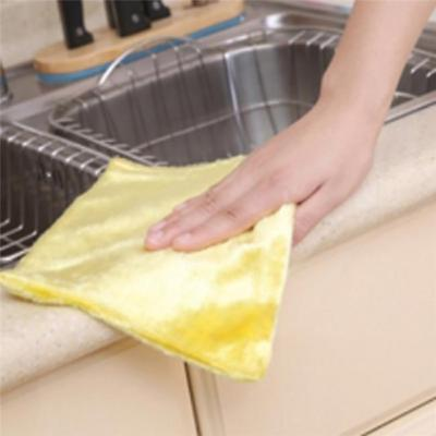 1Pc Useful Microfibre Cleaning Car Cloth Soft Absorbent Wash Duster Towel YO