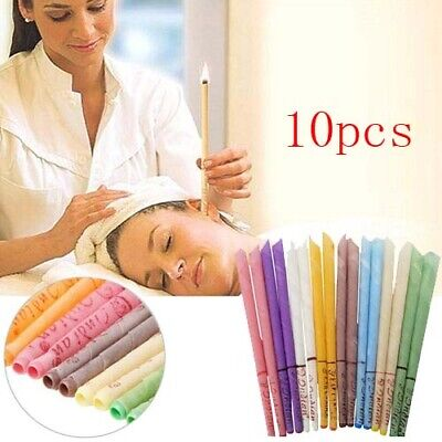 10X Ear Cleaner Wax Removal Candles Treatment Care Healthy Hollow Candles Sets