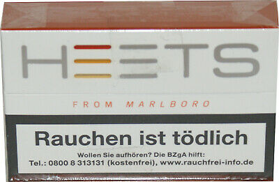 5 x HEETS by Marlboro Amber Label Tobacco  20Sticks=6g x 5=30g Preis 6,00€