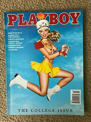 Playboy Magazine October 2013 New Factory Sealed The College Issue   05