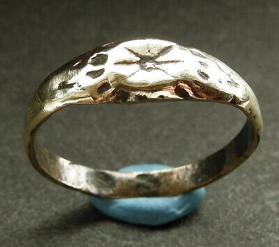 A genuine ancient Roman bronze ring - UK find