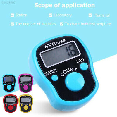 475B Plastic with Light Electronic Counter Multi-Function Portable Finger Ring