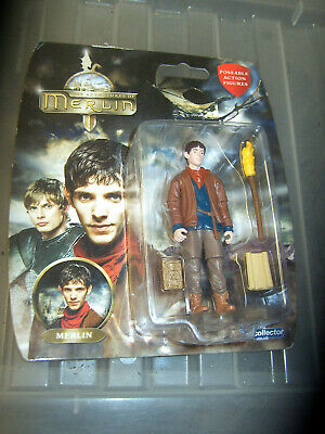 """BBC TV SERIES ADVENTURES OF MERLIN 3.75/"""" ACTION FIGURE Full Set of 7 Blisters"""