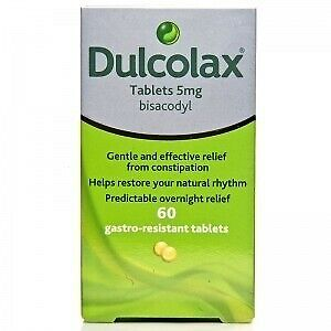 Dulcolax 5mg Gastro-Resistant Constipation Laxative Tablets (60 tablets)