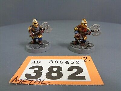 Games Workshop Lord of the Rings Middle Earth Dwarf Khazad Guard 382