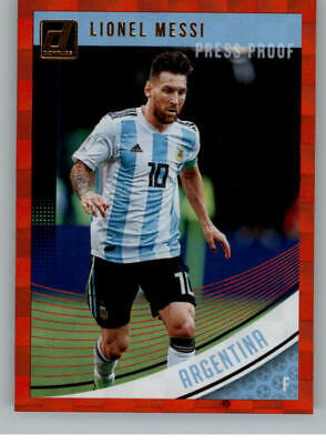 a1d03e7dc 2018-19 Panini Donruss Press Proof Red Soccer Singles Pick Your Cards    Make Lot