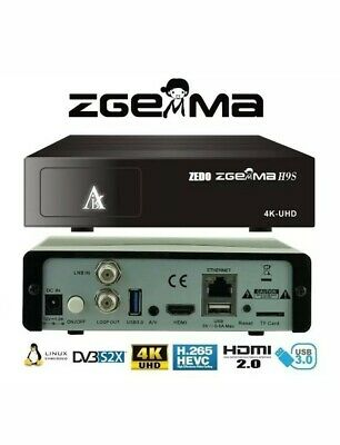ZGEMMA H9S 4K IPTV UHD with Wooshbuild Infinity and 12