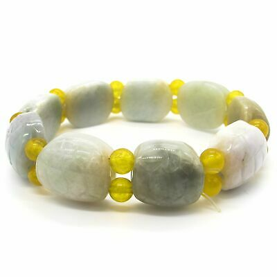Women's Genuine Real Grade A Jadeite Jade Bracelet Bangle Chinese Stone Jewelry