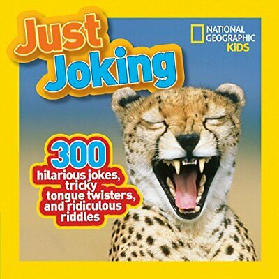 (Good)-Just Joking: 300 Hilarious Jokes, Tricky Tongue Twisters, and Ridiculous