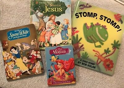 HARDCOVER and BOARD BOOKS for Children (Lot of 4) Books