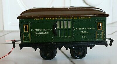 Bing NEW YORK CENTRAL LINES 501  Express service baggage Spur 0 (N4433)