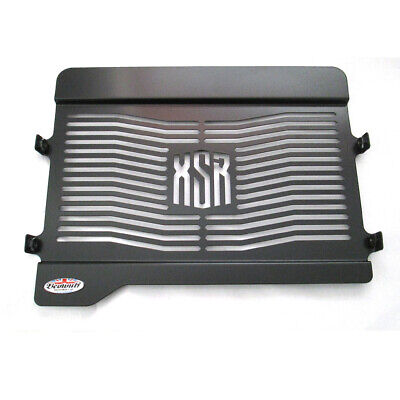 Yamaha XSR 700 (15-19) Black Stainless Steel Beowulf Radiator Guard Grill Cover