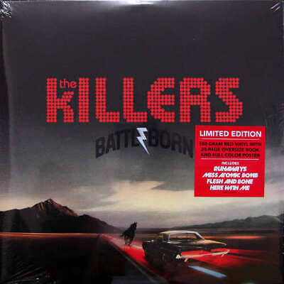 The Killers - Battle Born (2xLP, Album, Ltd, Red Vinyl Schallplatte - 154577