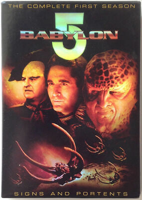 Babylon 5 - The Complete First Season (DVD, 2009, 6-Disc Set) WORLD SHIP AVAIL