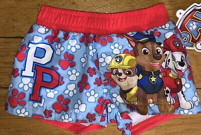 6228d14e5b PAW PATROL Infant Boys 0 3 6 Months Bathing Suit Swim Trunks Shorts Bottoms  Nick