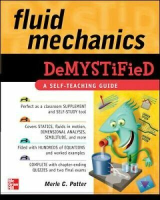 Fluid Mechanics DeMYSTiFied by Merle Potter 9780071626811 | Brand New