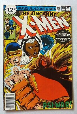 Uncanny X-Men 117 Bronze Age 1979 Marvel Comics VFN++/NM Origin Professor X