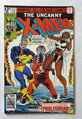 Uncanny X-Men 124 Bronze Age 1979 Marvel Comics VFN++/NM