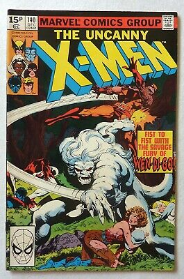 Uncanny X-Men 140 Bronze Age 1980 Marvel Comics NM-/NM Wendigo