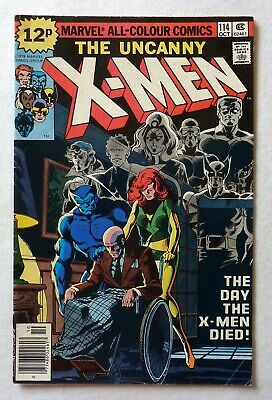 Uncanny X-Men 114 Bronze Age 1978 Marvel Comics VFN Condition