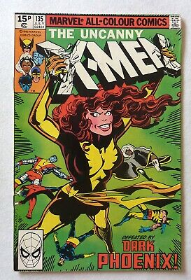 Uncanny X-Men 135 Bronze Age 1980 Marvel Comics NM-/NM Dark Phoenix