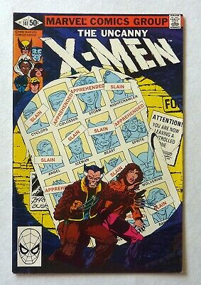 Uncanny X-Men 141 Bronze Age 1981 Marvel Comics NM-/NM Days Of Future Past