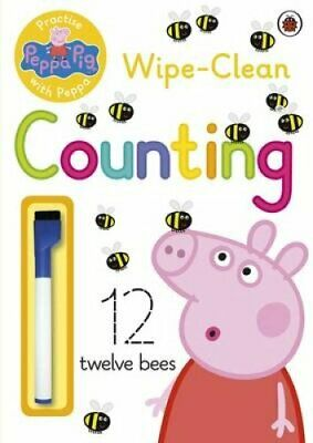 Peppa Pig: Practise with Peppa: Wipe-Clean Counting by Peppa Pig 9780723297765
