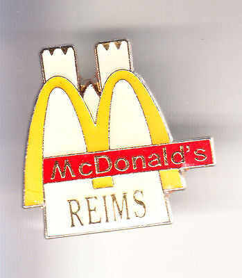 Rare Pins Pin's .. Mc Donald's Restaurant Cathedrale Eglise Reims 51 ~15