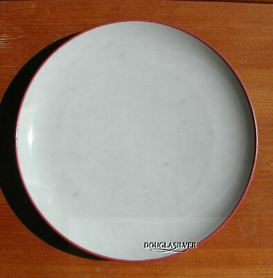 "Noritake Colorwave Raspberry China 10 3/4"" Dinner  Plate"