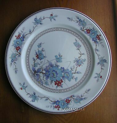 "Noritake Bleufleur China 10 5/8"" Dinner Plate Superb"