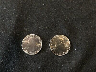 (2) 2019-W Lowell National Park Quarter Brillant Uncirculated