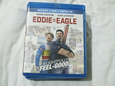 Movie Blu Ray Eddie The Eagle Taron Egerton Hugh Jackman