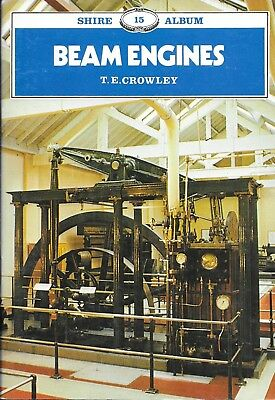 Shire Album No. 15 BEAM ENGINES by T E Crowley Paperback 4th Ed 1992